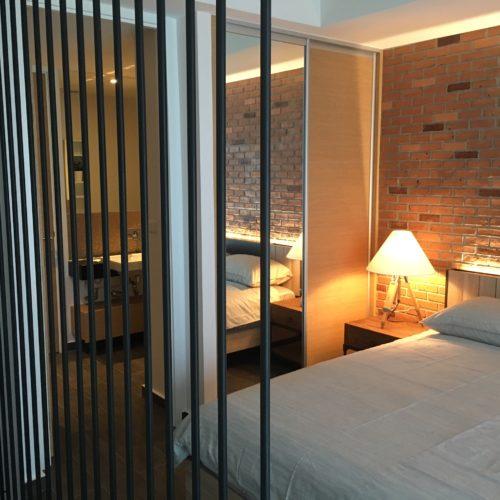 contemporary loft divider