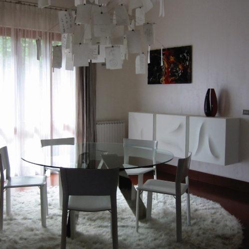 Paper chandelier by Ingo Maurer