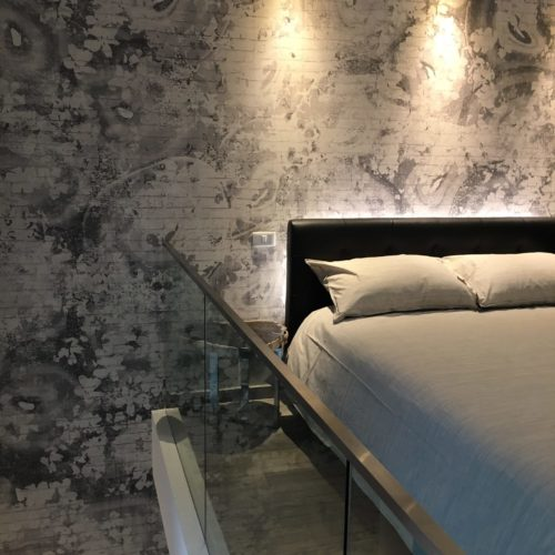 loft Ekamai bedroom wallpaper