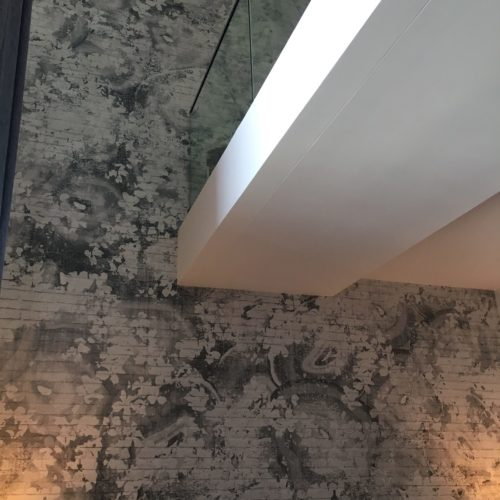 loft grey wallpaper