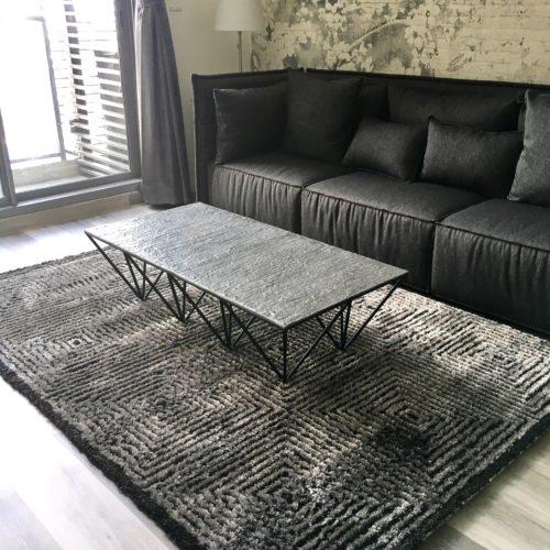 bespoke aluminium coffee table