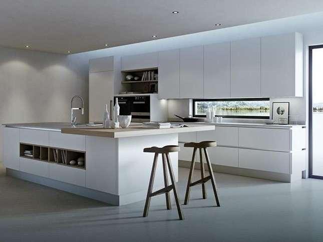 Kuche Mit Kochinsel Funktionales Design
