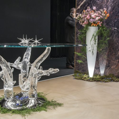 Murano glass art modern furniture