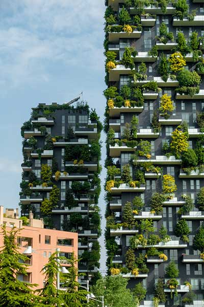Famous Vertical Gardens in the World