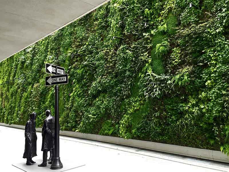 What is a vertical garden