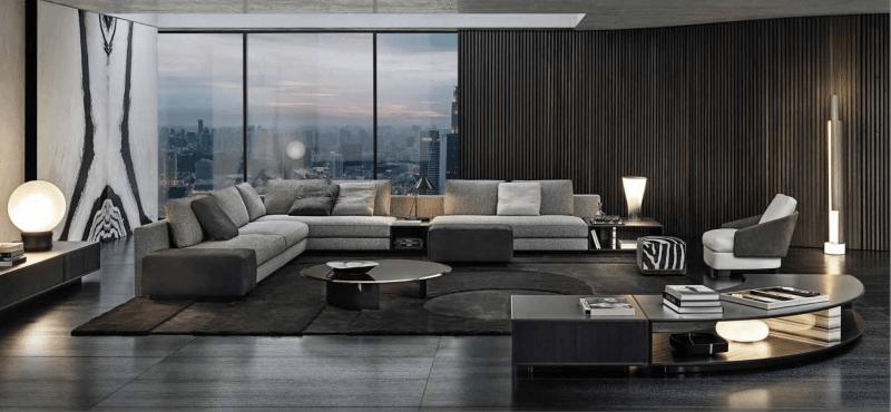 Modern furniture in Bangkok