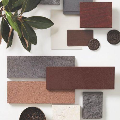 Mood board for interior design