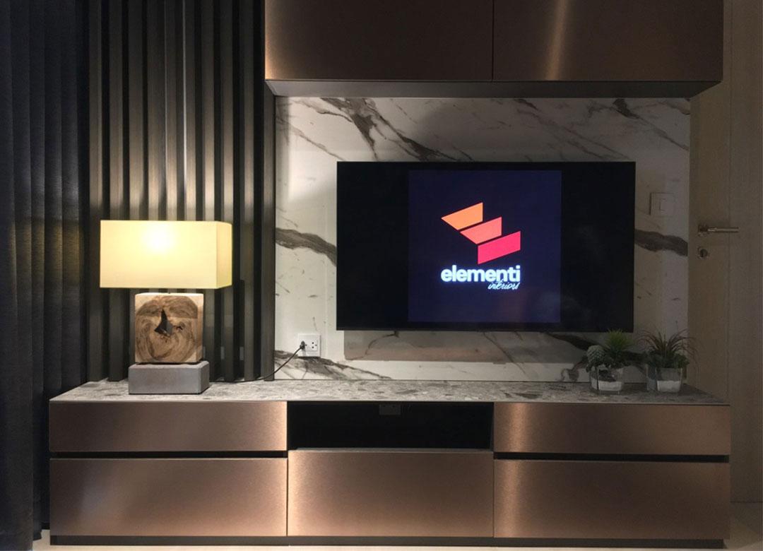 Tv cabinet Elementi Interiors