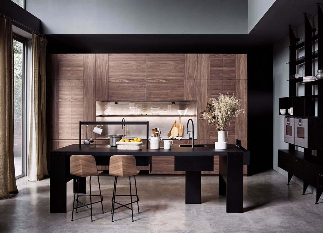 Kitchen design ideas | Wooden cabinet | Elementi Interiors | Bangkok interior design